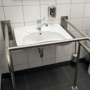 洗面器用手すり・小便器用手すり