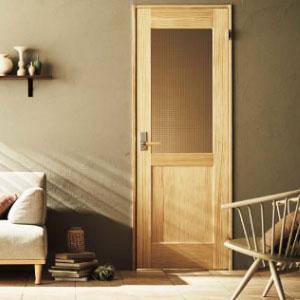無垢材の室内ドア